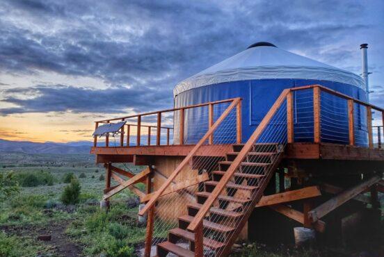best yurt rentals utah