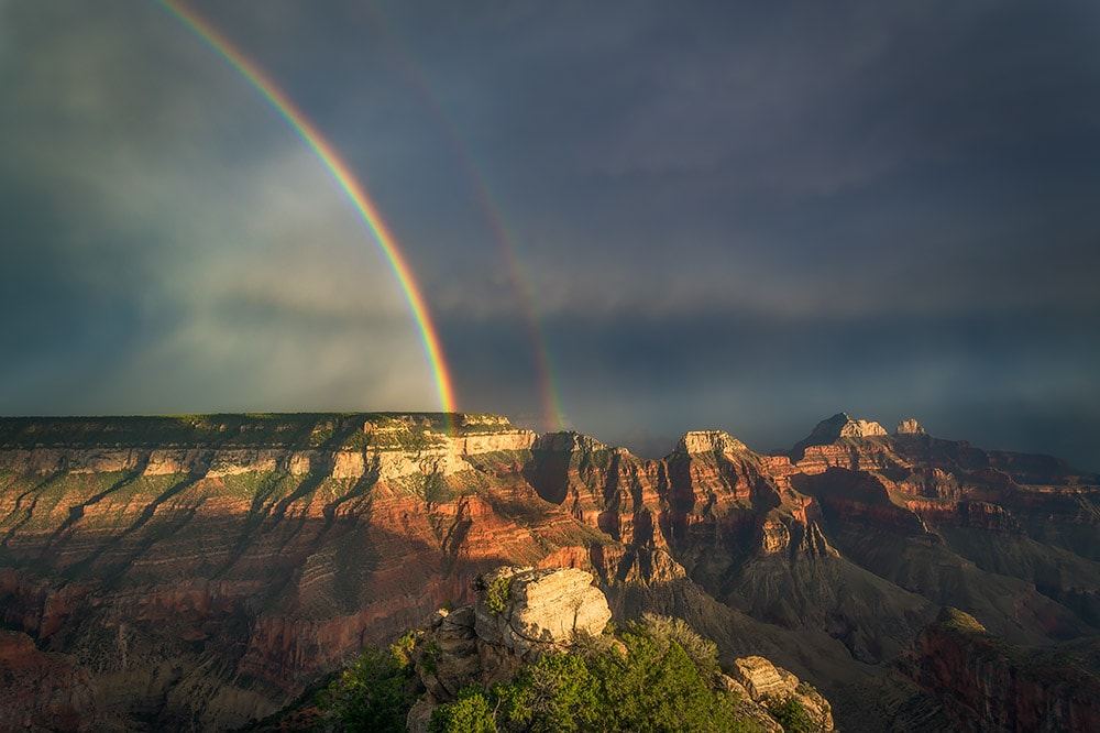 bright angel point rainbow
