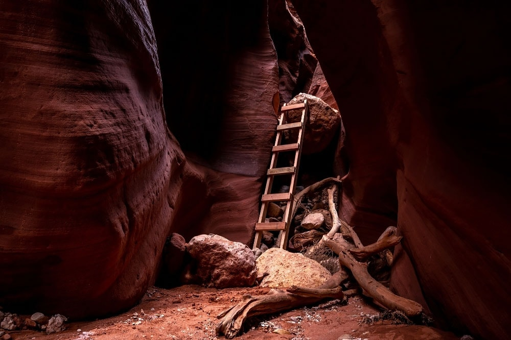 buckskin gulch ladder