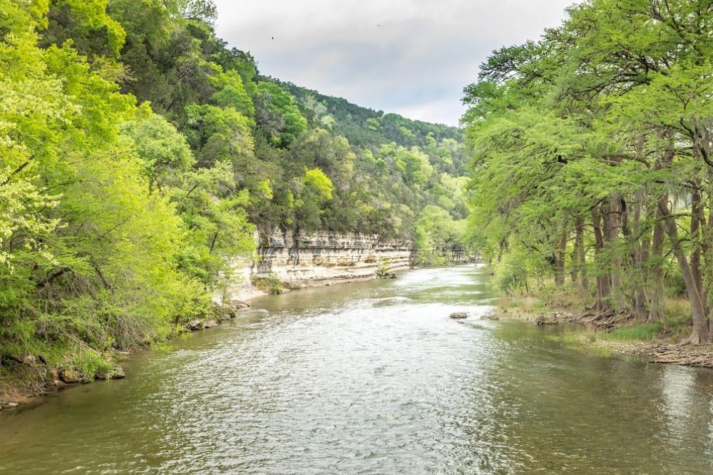 guadalupe river near new braunfels