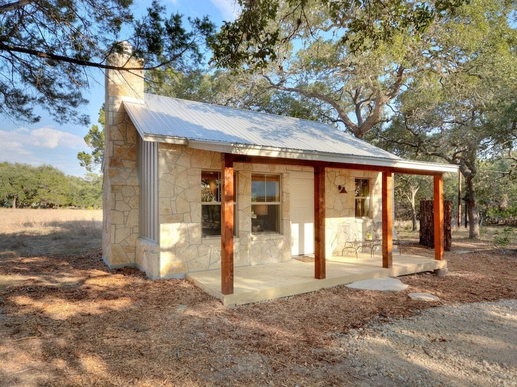 hill country cabin