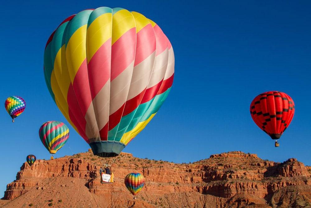 kanab hot air balloons