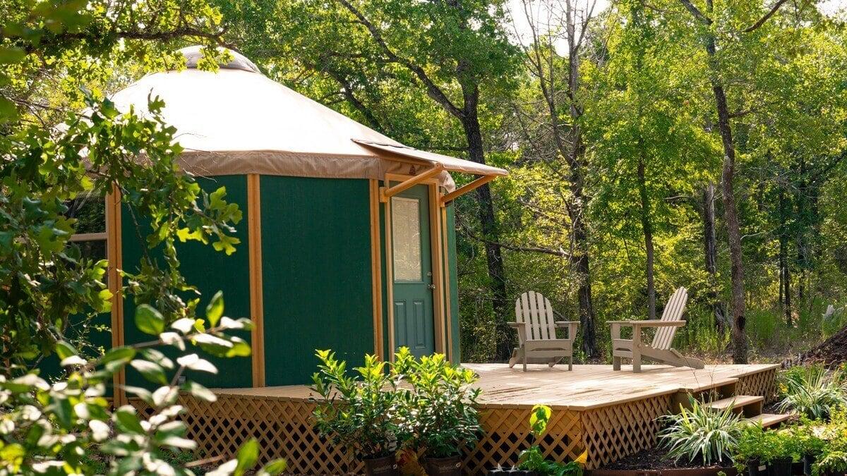 the nest yurt