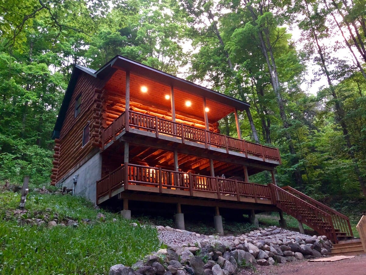 traverse city cabin airbnb