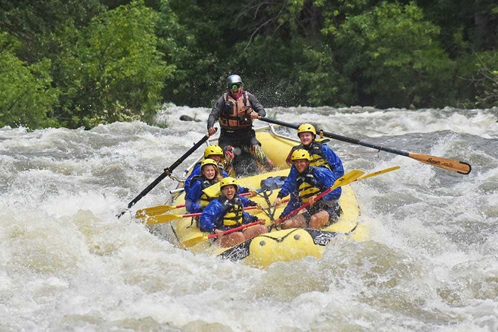 whitewater rafting medford