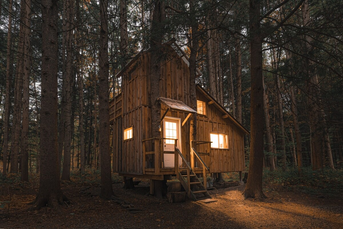 Goodall's Treehouse Cabin by the River