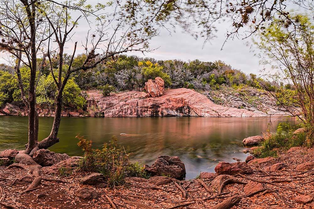 Inks Lake Camping Texas