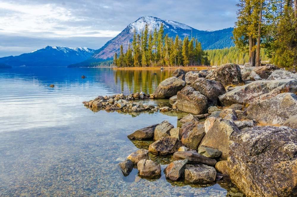Lake Wenatchee Campground Washington