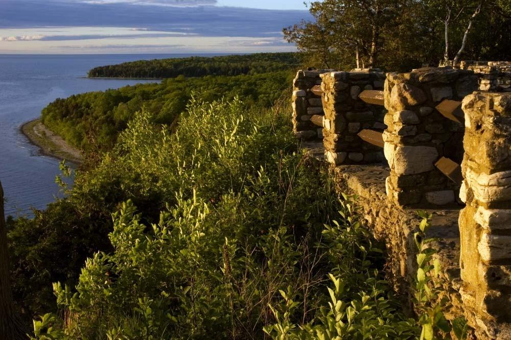 Peninsula State Park Wisconsin Lake Camping