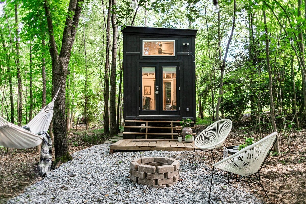 Tiny House on Little Road glamping