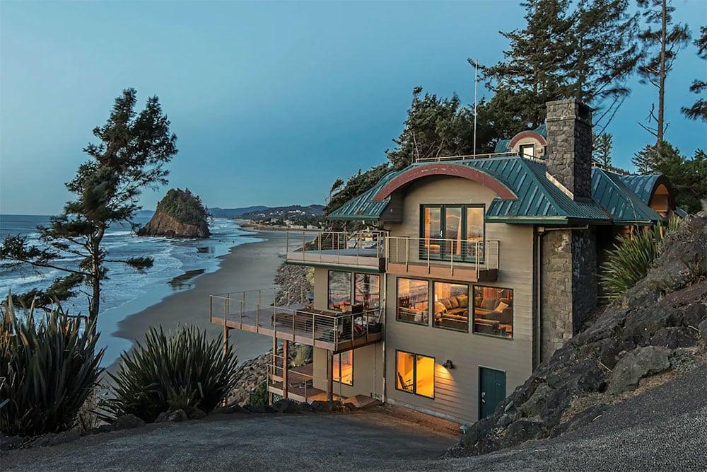 beachfront vacation rental oregon
