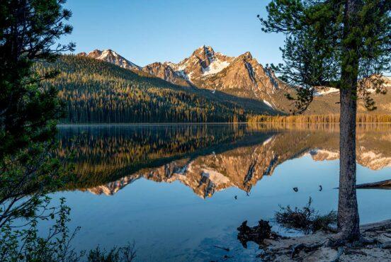 best lake camping idaho