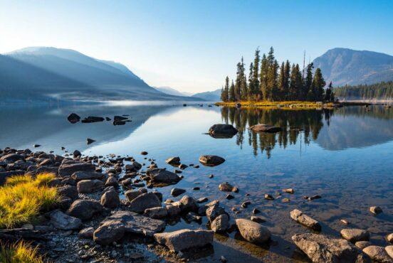 best lake camping washington