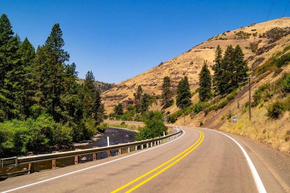 hells canyon oregon scenic drive
