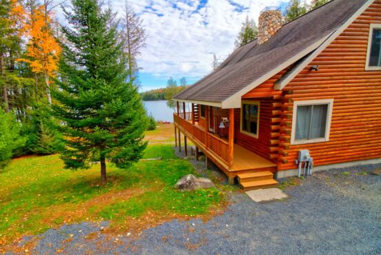 maine secluded cabin rentals