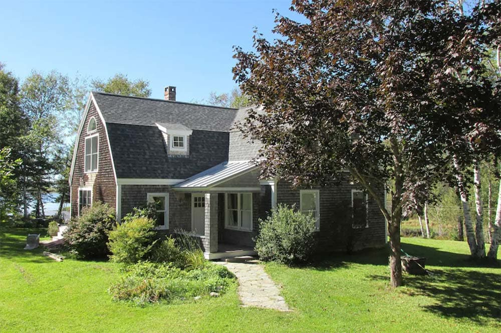 maine secluded cottage rental
