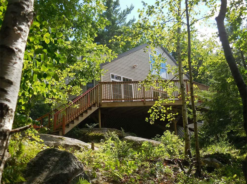 secluded cabin rentals maine