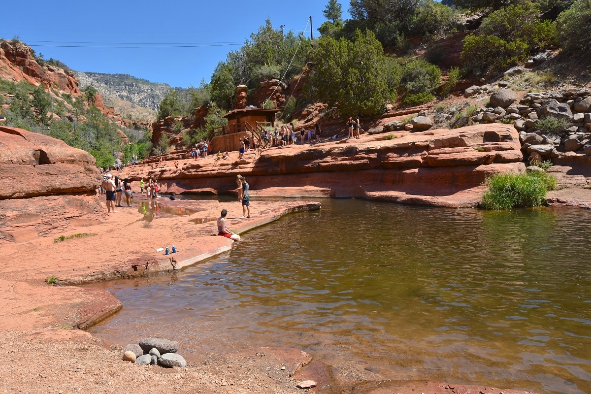 Slide Rock State Park swimming hole