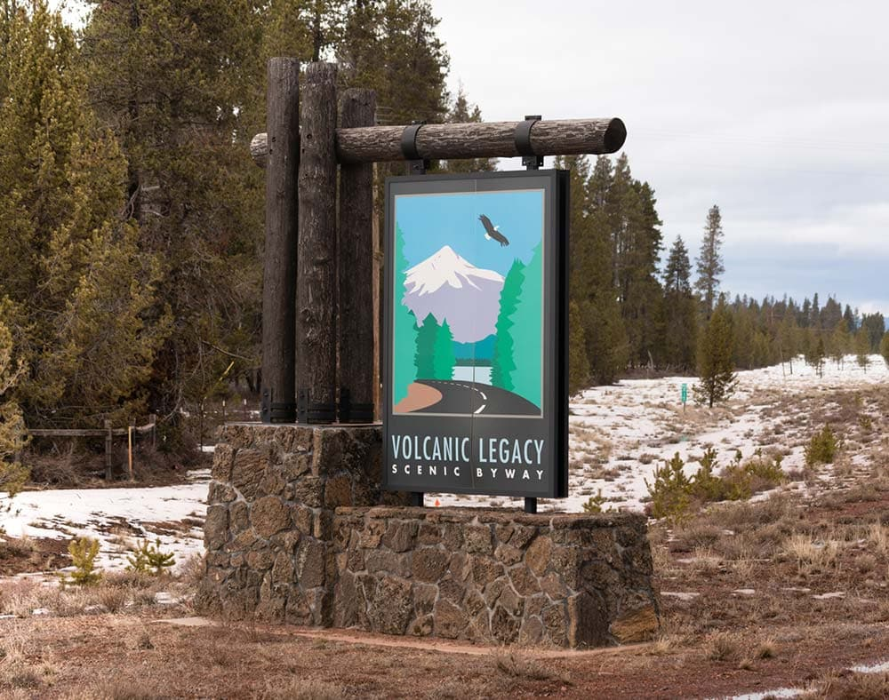 volcanic legacy scenic byway oregon