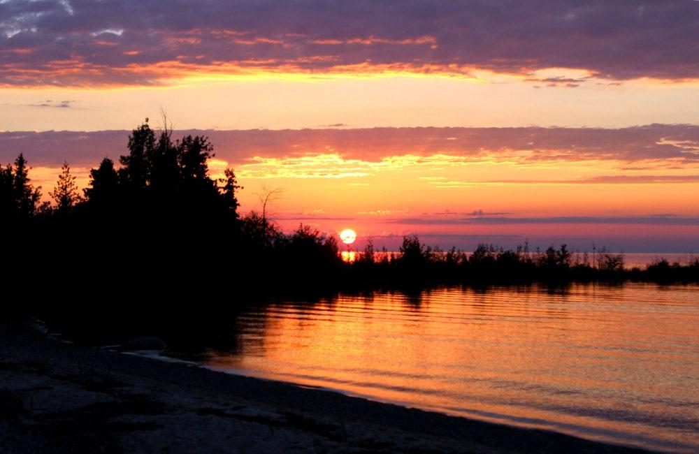 Fisherman's Island State Park michigan