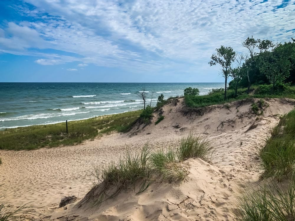 Indiana Dunes National Park from Chicago
