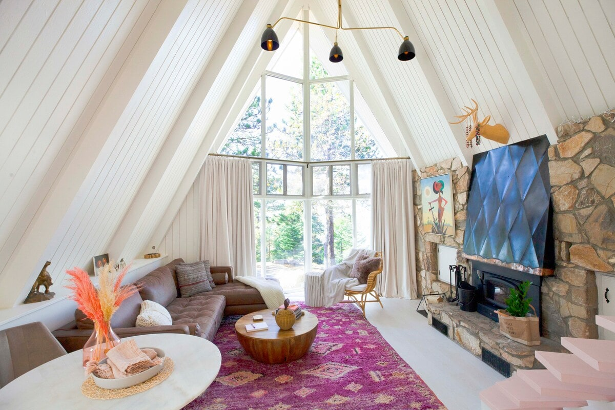 Little Apple A-Frame airbnb