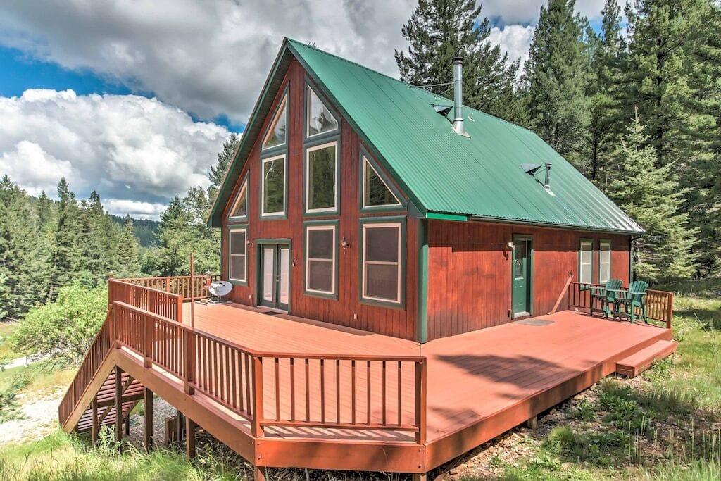 Rustic Cloudcroft Cabin