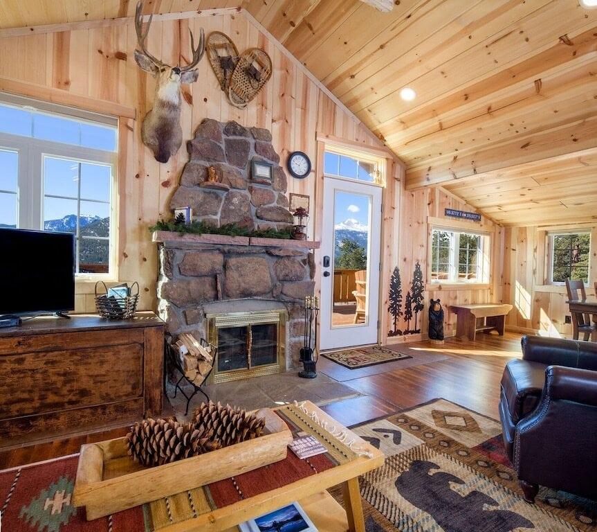 Vintage Estes Cabin
