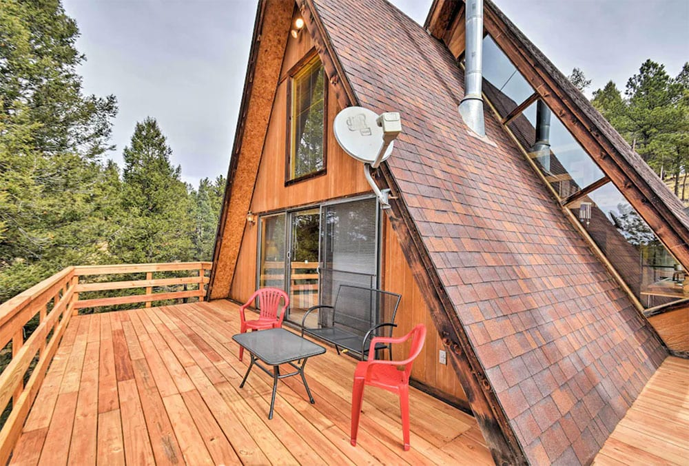 a frame vacation rentals