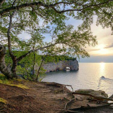 best lake camping michigan