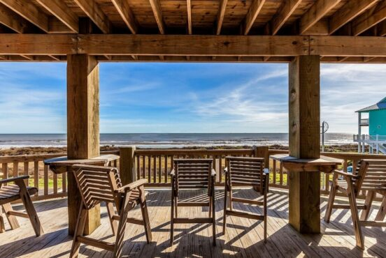 best vacation rentals crystal beach texas