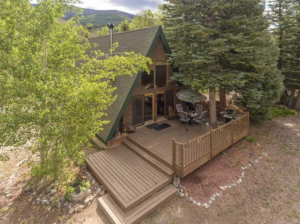 blue river cabin vrbo colorado