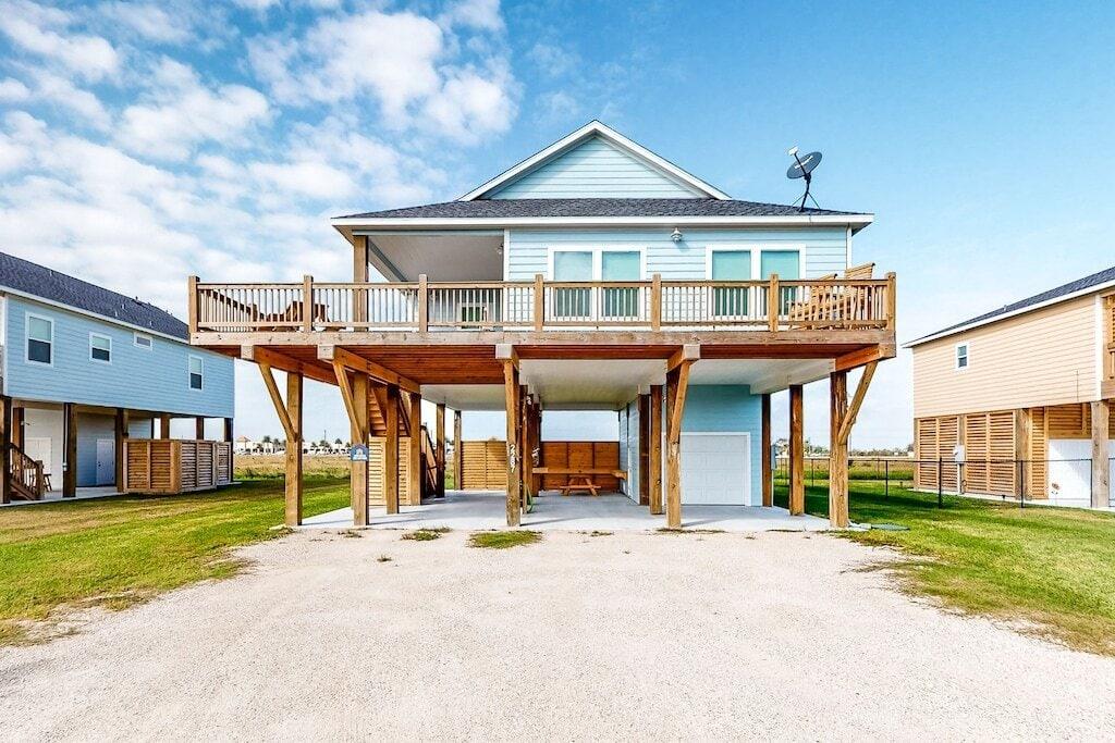 crystal beach rental house