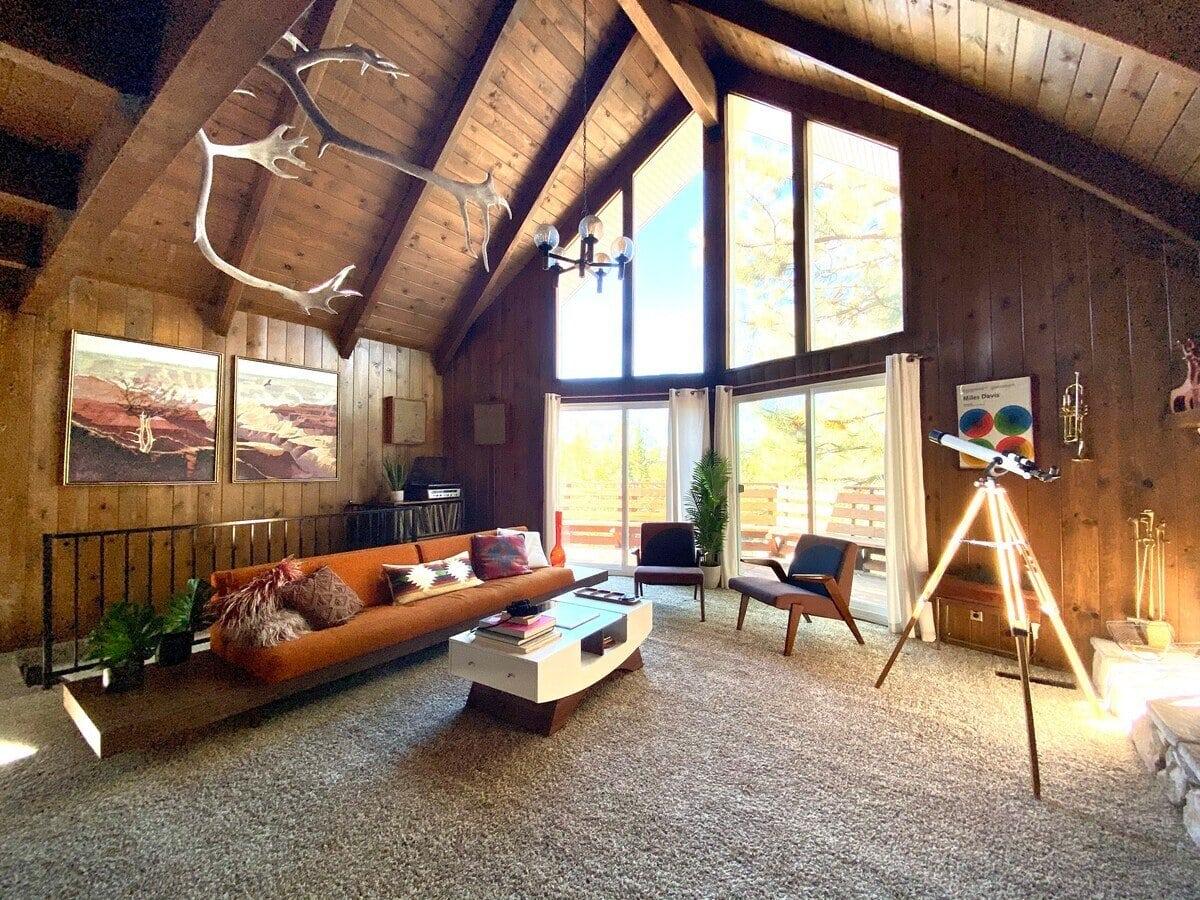 lake arrowhead a-frame cabin rental