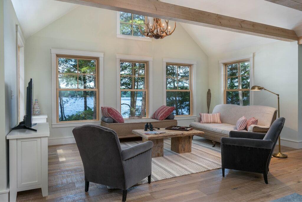 lakefront nh cottage