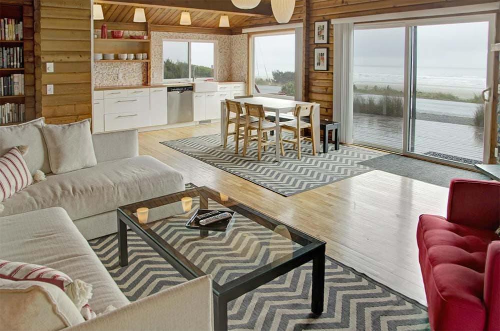 oceanfront cabin rental oregon