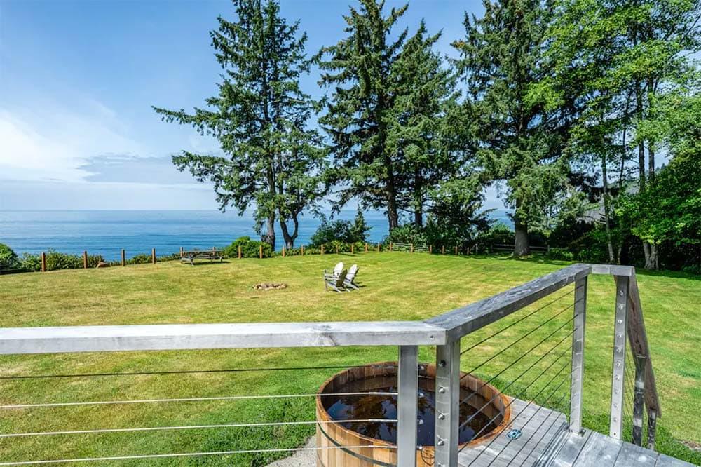 oceanview cabin rental oregon coast