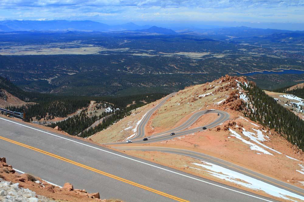pikes peak colorado scenic drives