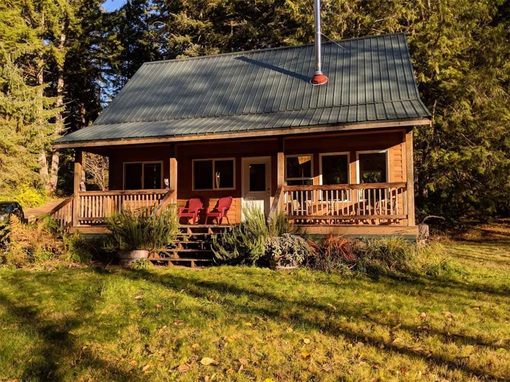 rustic cabin rental oregon coast