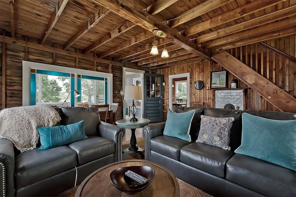rustic maine vacation rental