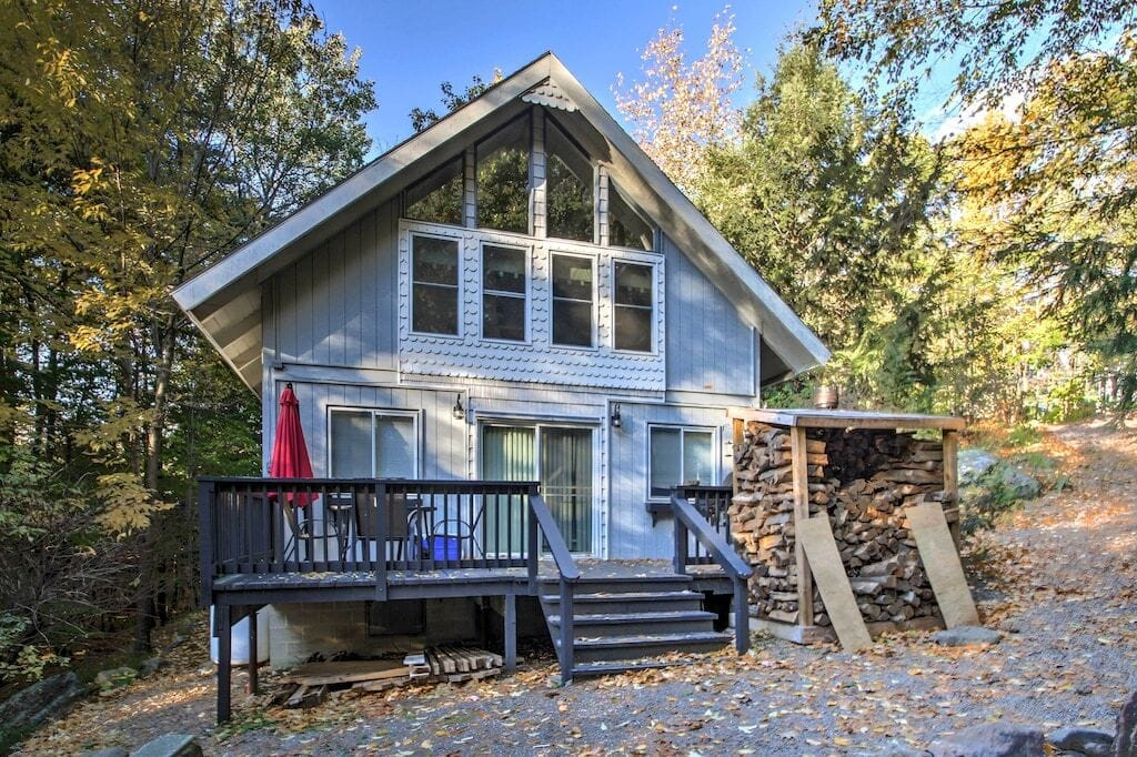 secluded new hampshire vrbo