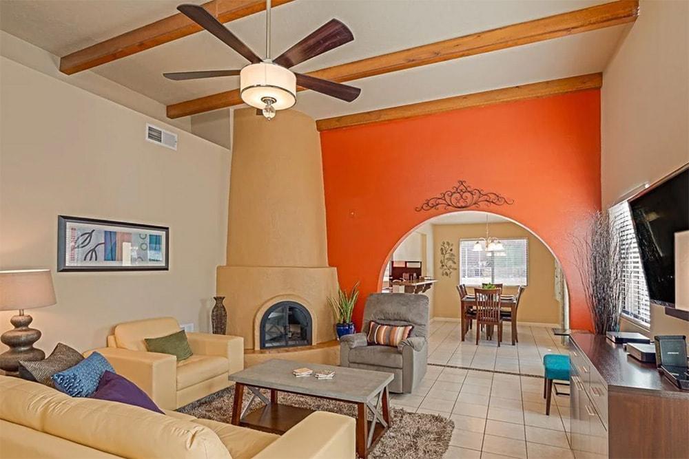 spanish style vacation rental albuquerque