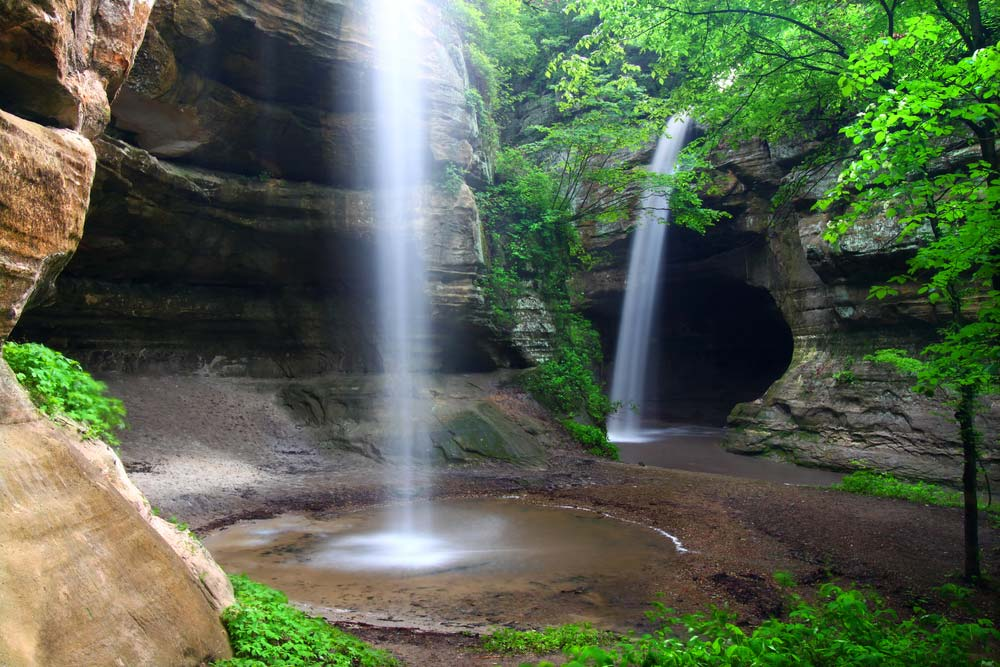 starved rock state park from chicago