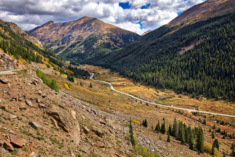 top of the rockies scenic drive co
