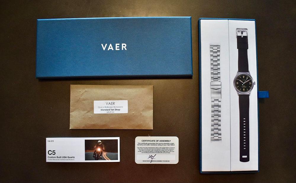 vaer v5 watch first impressions