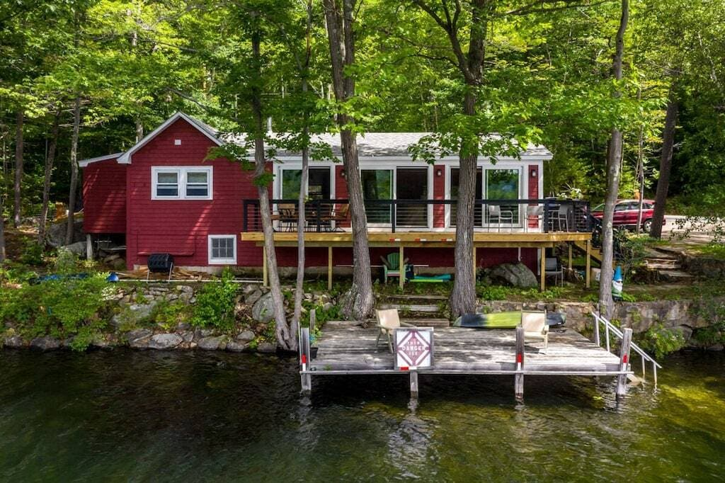 waterfront home new hampshire