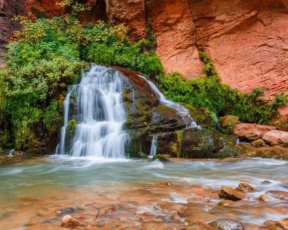 zion narrows backpacking