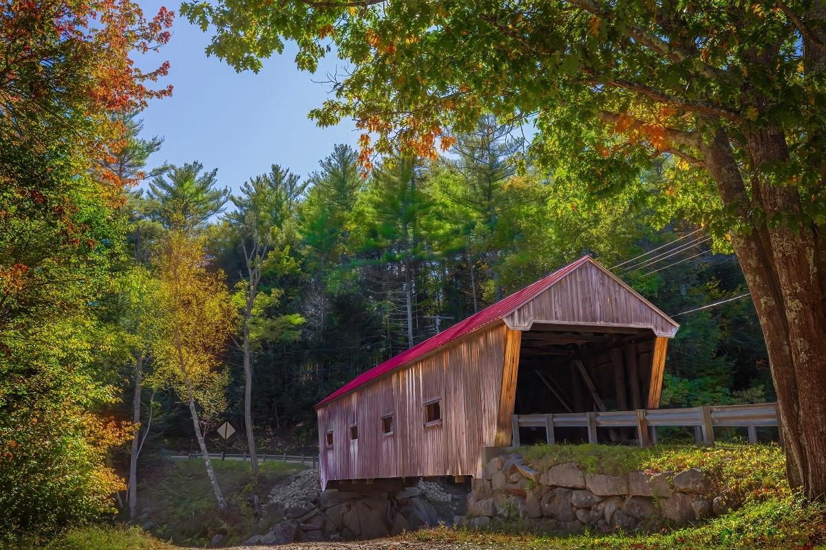 Dalton Covered Bridge, Warner, NH