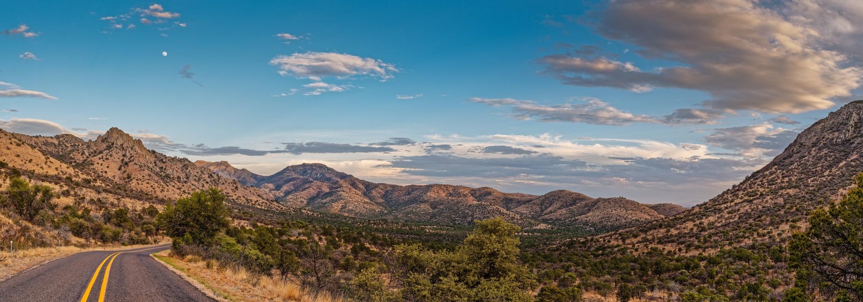 Davis Mountains Scenic Loop drive