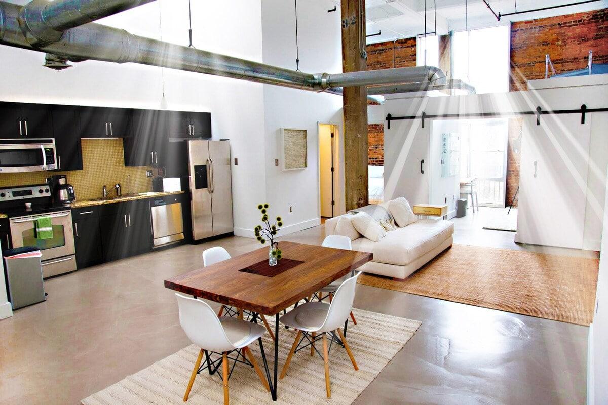 Historic upscale artist loft on the Beltline